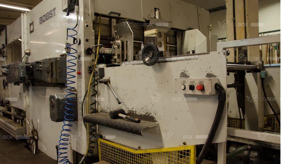 Automatic Die Cutter Machine Bobst