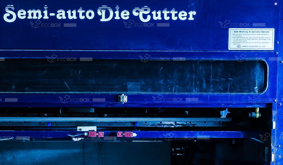 Wook Il Semi-Automatic Die Cutter - www correxpt com