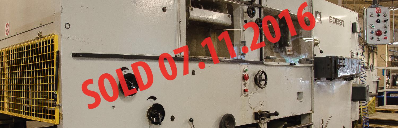 Bobst automatic laminator
