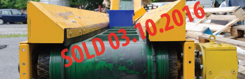 waste conveyor cardboard